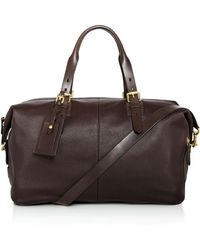 Cole Haan - Brayton Pebbled Leather Duffel - Lyst