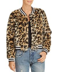 Jack BB Dakota - Clever Girl Faux Fur Bomber - Lyst
