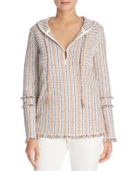 Tory Burch - Hollis Baja Hooded Tunic - Lyst