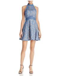 La Maison Talulah - Delilah Halter Mini Dress - Lyst