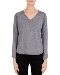 Gerard Darel - Cécile V-neck Sweater - Lyst
