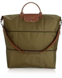 Longchamp - Le Pliage Expandable Travel Duffel Weekender - Lyst e7c0a86bbc9a2