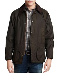 Barbour - Classic Bedale Waxed Cotton Coat - Lyst