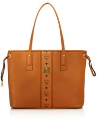 MCM - Project Reversible Leather Tote - Lyst