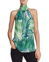 Ramy Brook - Paige Printed Silk Top - Lyst
