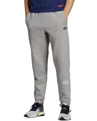 e1882bfdf adidas Originals Pipe Cotton French Terry Sweatpants in Blue for Men - Lyst
