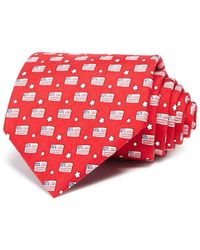 Vineyard Vines - Flags And Stars Classic Tie - Lyst