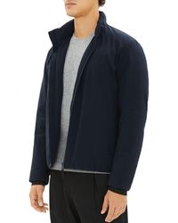 Theory - Harris Zip-front Active Puffer Jacket - Lyst