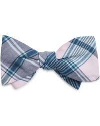 Brooks Brothers - Madras Plaid Bow Tie - Lyst