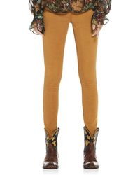Scotch & Soda - La Bohemienne Skinny Jeans In Ochre - Lyst