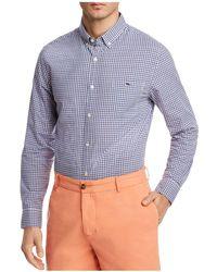 Vineyard Vines - Porter Square Plaid Slim Fit Button-down Shirt - Lyst