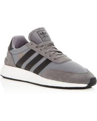 adidas - Men's Iniki Lace Up Sneakers - Lyst
