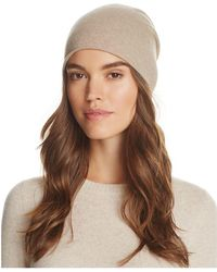 C By Bloomingdale's - Angelina Cashmere Slouch Hat - Lyst