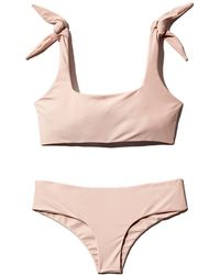 7fc2db5163 Mikoh Swimwear - Jamaica Tie - Shoulder Bralette Bikini Top - Lyst