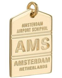 Jet Set Candy - Ams Amsterdam Luggage Tag Charm - Lyst