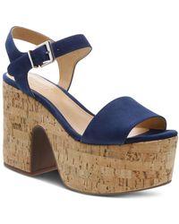 cd0f376d1f6 Schutz - Women s Glorya High-heel Platform Sandals - Lyst
