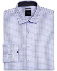 W.r.k. - Small Grid Slim Fit Dress Shirt - Lyst