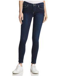 True Religion | Casey Flap Skinny Jeans In Lonestar | Lyst