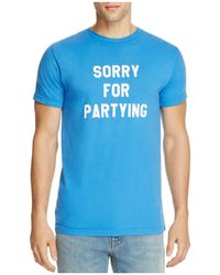 Sub_Urban Riot - Sorry For Partying On Tee - Lyst