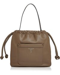 Marc Jacobs - Tied Up Leather Shoulder Bag - Lyst