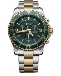 Victorinox - Maverick Chronograph Watch, 43mm - Lyst