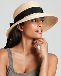 Helen Kaminski - Newport Classic Standard Raffia Hat - Lyst