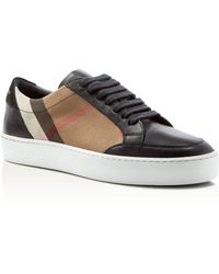 Burberry - 'house Check' Sneakers - Lyst