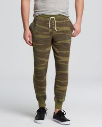 Alternative Apparel - Eco Fleece Dodgeball Trousers - Lyst