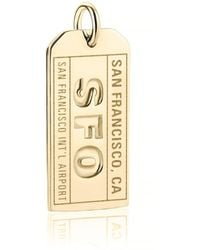 Jet Set Candy - Sfo San Francisco Luggage Tag Charm - Lyst