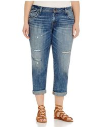 Lucky Brand - Reese Distressed Boyfriend Jeans In Northridge Park - Lyst