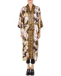The Kooples - Baroque Silk Kimono - Lyst