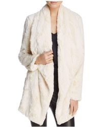 Jack BB Dakota - Haddie Faux-fur Jacket - Lyst