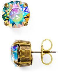 Sorrelli - Round Stud Earrings - Lyst