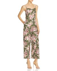 6451319eb9 French Connection - Cactus Floral-print Jumpsuit - Lyst