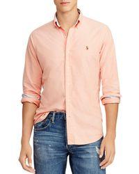 Polo Ralph Lauren - Classic Fit Button-down Shirt - Lyst