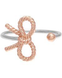 Olivia Burton | Vintage Bow Open Ring | Lyst