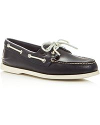 Sperry Top-Sider - Men's Authentic Original Two Eye Leather Boat Shoes - Lyst
