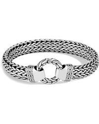 John Hardy | Men's Sterling Silver Classic Chain Ring Bracelet | Lyst