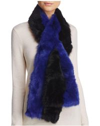 Surell - Pieced Rabbit Fur Scarf - Lyst