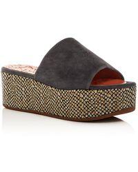 Chie Mihara - Women's Omar Platform Slide Sandals - Lyst