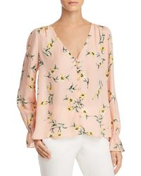 Joie - Bolona Floral Silk Top - Lyst