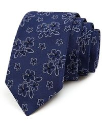 Ted Baker - Floral Hibiscus Classic Tie - Lyst