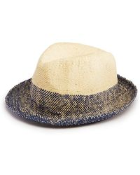 Paul Smith - Two-tone Trilby Hat - Lyst