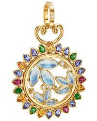 Temple St. Clair - Diamond & Multi Gemstone Pendant - Lyst