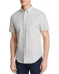 Bloomingdale's - Regular Fit Button-down Shirt - Lyst