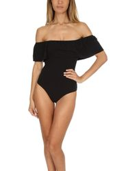 Nightcap - Off Shoulder Bodysuit - Lyst