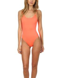 Solid & Striped - The Anne Marie One Piece - Lyst