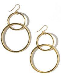Vanessa Mooney - The Interlocking Hoop Earrings - Lyst
