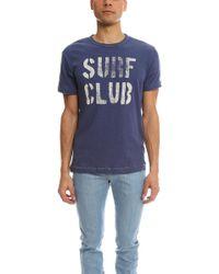 Todd Snyder - Surf Club Royal T-shirt - Lyst