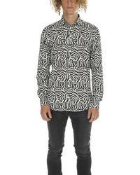 Richard James - Dazzle Combo Shirt - Lyst